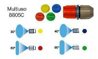 MARY5-LADY7-MARY10-ARIEL-VIVA permetező univerzális szfej.+4 fúvóka